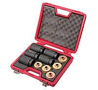 Набор съёмников сайлентблоков под гидравлический привод 62 -80mm шаг 2мм (4831) JTC