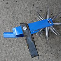 Культиватор 6-ти рядный ручной с подвижным ножом