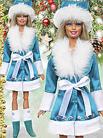 "Одежда для кукол Барби ""Снегурочка"""