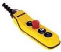 Кнопочный пост на 4-ре кнопки вверх-вниз-стоп-пуск (тельферный) Ravioli
