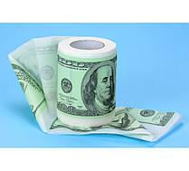 Туалетная бумага прикольная 100 долларов ( баксов )