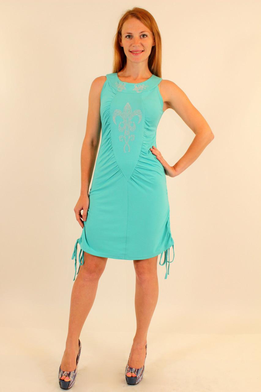 Платье сарафан короткое 42-48 р