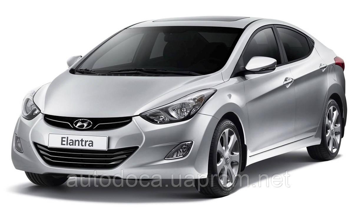 Защита картера двигателя и акпп Hyundai Elantra 2011-