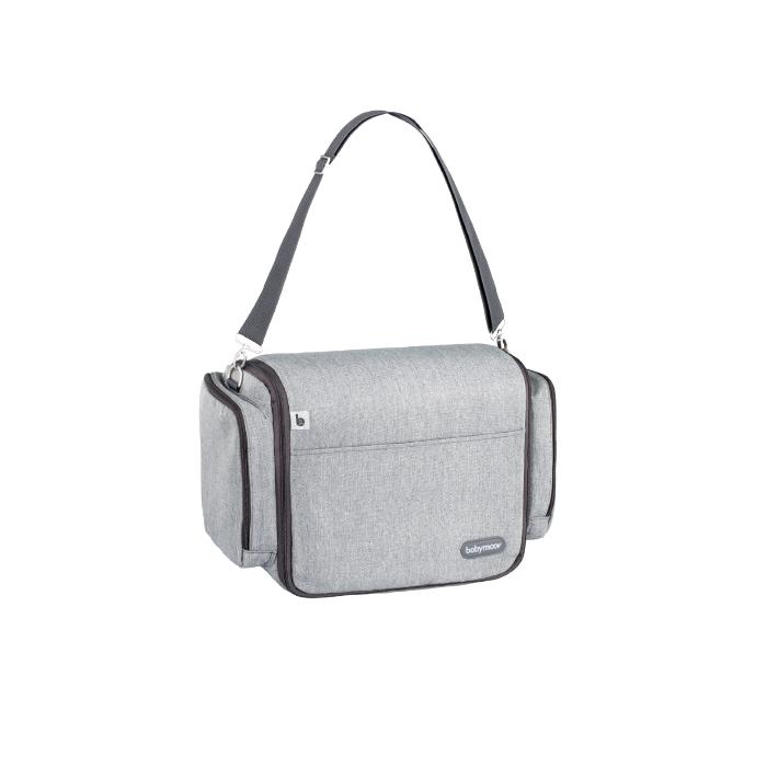 Babymoov - Сумка-люлька для путешествий с пеленатором, smoky grey