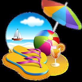 Пляж и бассейн