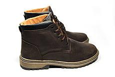 Зимние ботинки (на меху) мужские CAT 13036 (реплика)