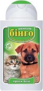 Шампунь Бинго против блох для котят и щенков 100 и 200 мл