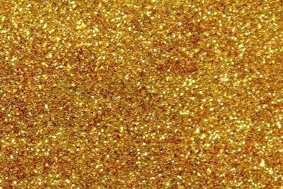 Блестки золото - глиттер 500 г