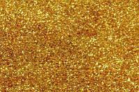 Блестки золото - глиттер 500 г, фото 1