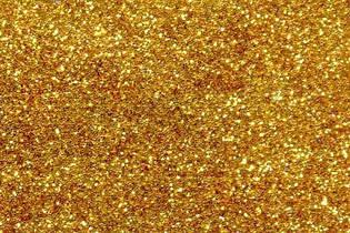 Блестки золото - глиттер 50 г