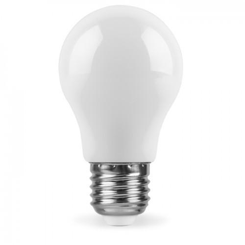 Декоративная светодиодная лампа белая LB-375 Е27 3W 6400K 230V Код.59588