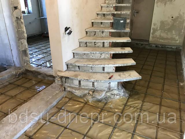 Фото бетонного пола в Днепропетровске