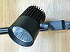 Светодиодный трековый фитосветильник SL-4003F 30W 12-24V DC (full spectrum led) черный Код.59584, фото 5