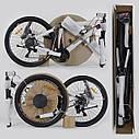 """Детский спортивный велосипед зеленый CORSO Free Ride 24"""" металлическая рама детям от 8 лет, от 135 см, фото 8"""