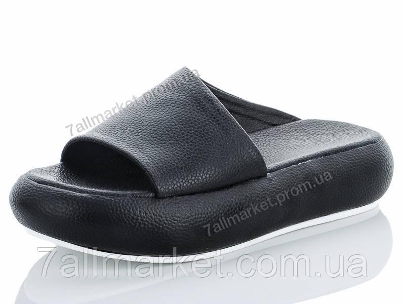 82a6dc726 Шлепки женские облегченные Лето Сабо black (6 пар р.36-39)
