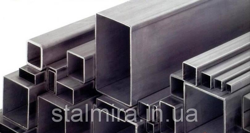 Труба прямоугольная стальная  100х60х4 [08кп;1-3пс] ндл Длина:1.5-6.0