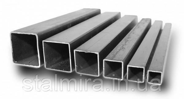 Труба стальная профильная  ППСС 50х50х2 [08кп;1-3пс] ндл Длина:1.5-6.0
