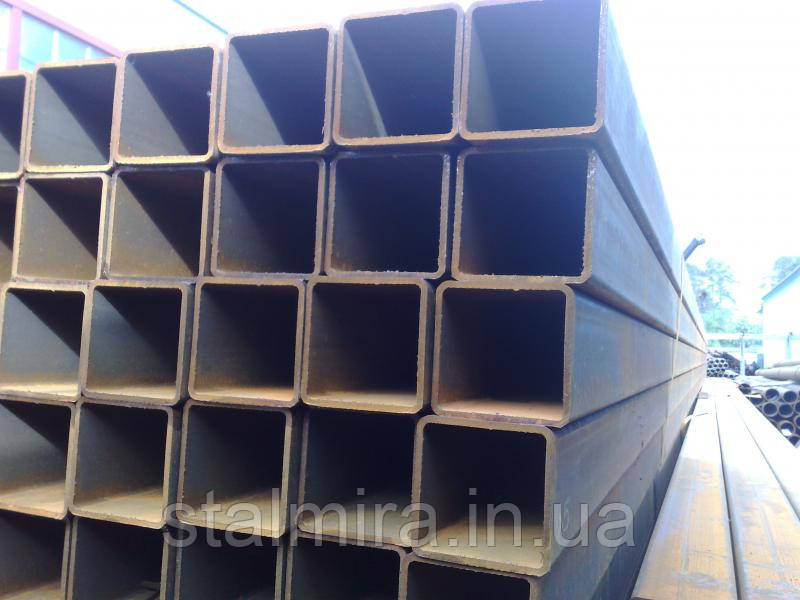 Труба профильная стальная 80х80х4 [1-3пс], Гост:8639-82