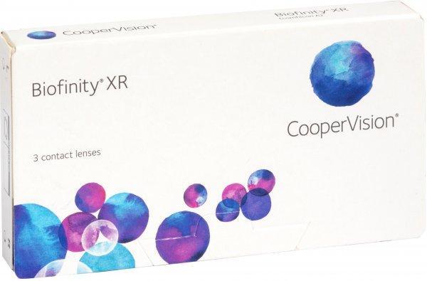 Линзы ежемесячной замены Cooper Vision Biofinity XR 3 шт.