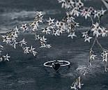 """Серебряное кольцо с эмалью """"Сердечко"""", фото 2"""
