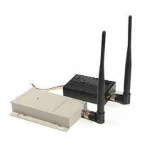 Мощный 4-х канальный 5 W комплект беспроводной передачи видео (ТХ 5000 А)
