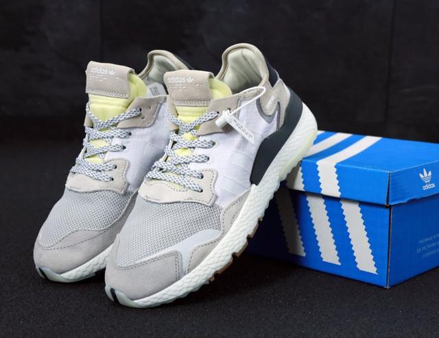 Кроссовки Adidas Nite Jogger Grey фото