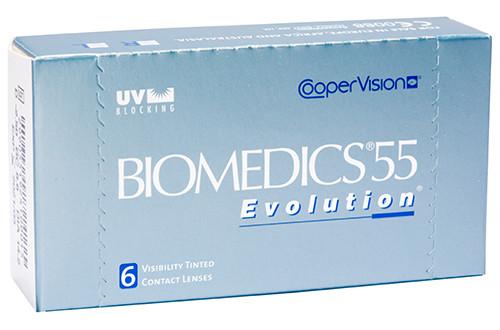 Линзы ежемесячной замены Biomedics55 Evolution