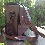 Жіноча сумочка  «Mavka» з натуральної шкіри, фото 6