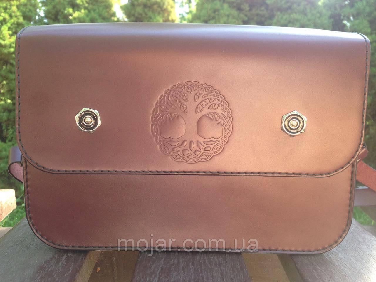 Жіноча сумочка  «Mavka» з натуральної шкіри