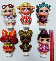 ТОЛЬКО ОПТ!!! Антистресова игрушка - сквиш в виде куклы лол