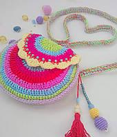 Сумочка на літо плетена, фото 1
