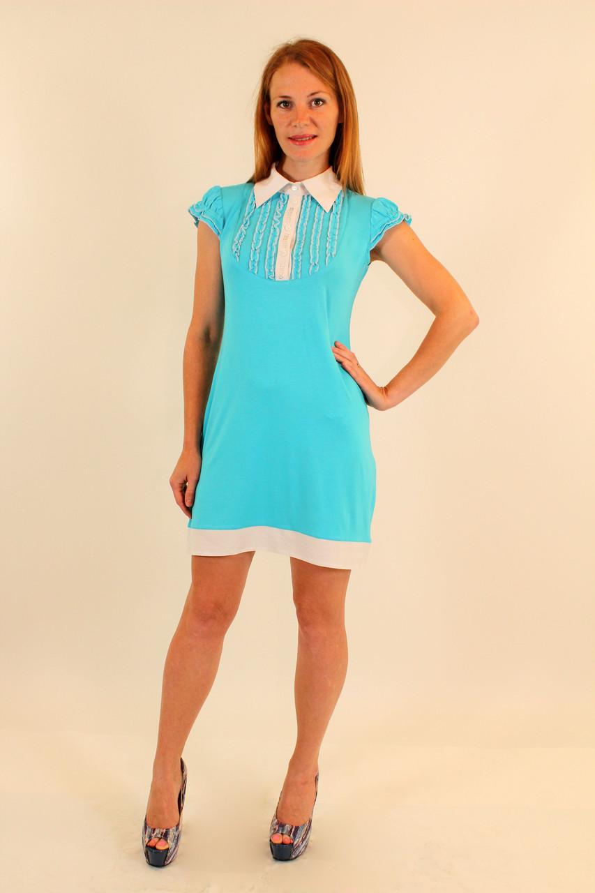 Платье-рубашка 42-48 р