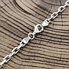 """Серебряная цепочка """"Якорная"""", длина 60 см, ширина 4 мм, вес 20.0 г, фото 2"""