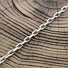 """Серебряная цепочка """"Якорная"""", длина 60 см, ширина 4 мм, вес 20.0 г, фото 3"""