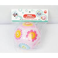 ASKATO Погремушка - мяч розовый
