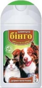 Шампунь Бинго дерматологический для собак и кошек 100 мл, 200 мл