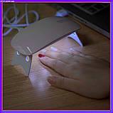 УФ лампа для сушки гель-лака UV LED SUN mini, фото 3