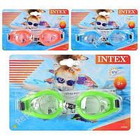 Очки для плавания Intex, на листе  (ОПТОМ) 55602