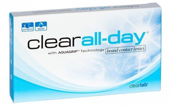 Линзы ежемесячной замены Clear All-day