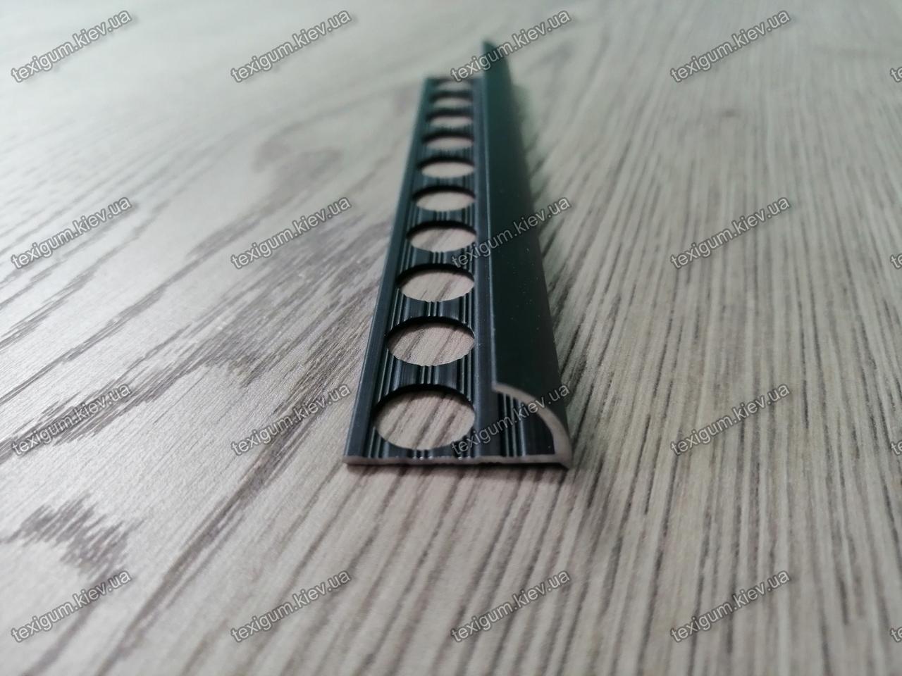 Порог алюминиевый торцевой для плитки 27х13,5мм.