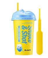 Альгинатная маска для лица интенсивное увлажнение Dr. Jart+ Shake & Shot Rubber Hydro Mask 50г (8809535802057)