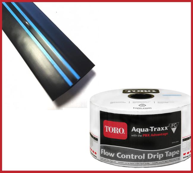 Капельная лента Aqua-Traxx 6 mil 15 см 3048м (Италия)