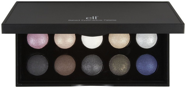 Запеченные тени для век палитра 10 оттенков E.l.f. Baked Eyeshadow Palette NY