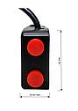 Галогенные лампы + выключатель Dual LED CREE U7D, фото 7