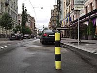 Резиновый парковочный (ограничительный) столбик.