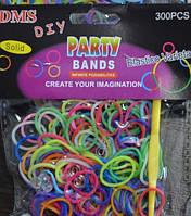 Резинки разноцветные Rainbow Loom 300 шт.