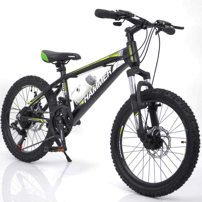 """Подростковый горный велосипед 20"""" для детей от 8-х лет Hammer S200"""