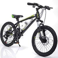 """Подростковый горный велосипед 20"""" для детей от 8-х лет Hammer S200, фото 1"""