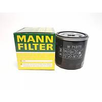 Фильтр очистки масла Mann W712/75 ланос,опель,авэо