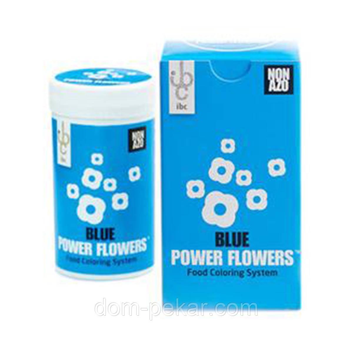 Краситель жирорастворимый NON AZO Power Flowers Синий 50 гр